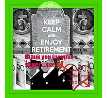 retirement funds Photographic Print