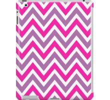 Chevrons, Zigzag background Pink, Purple iPad Case/Skin