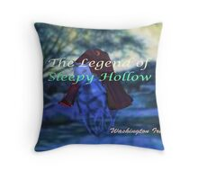 The Legend of Sleepy Hollow Throw Pillow