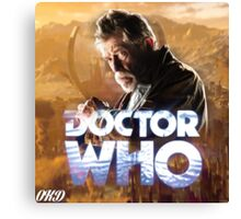 Doctor Who 50th Anniversary - War Doctor Canvas Print