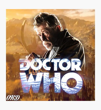 Doctor Who 50th Anniversary - War Doctor Photographic Print