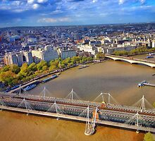 River Thames London by jeremyab