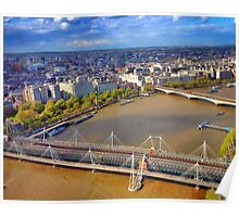 River Thames London Poster