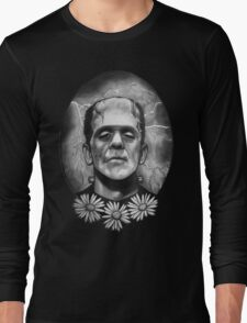 Boris Karloff as Frankenstein's Monster Long Sleeve T-Shirt