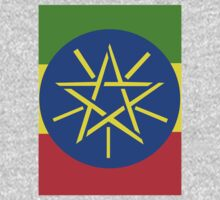 Ethiopian Flag Kids Tee