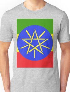 Ethiopian Flag Unisex T-Shirt