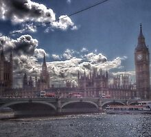 Houses of Parliament by jeremyab