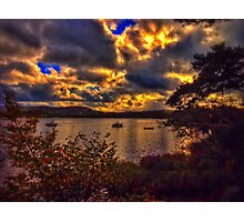 Fire Sky Photographic Print