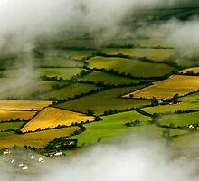 Patchwork fields - ireland by irishrain
