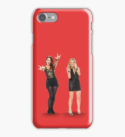 Tina and Amy; Sisters iPhone Case/Skin