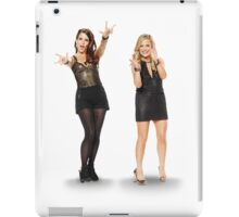 Tina and Amy; Sisters iPad Case/Skin