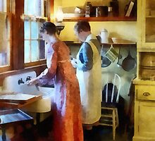 Washing Up After Dinner by Susan Savad