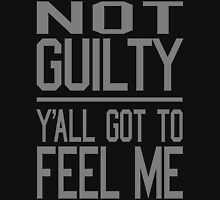 Not Guilty, Y'all Got to Feel Me Hoodie