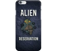 Cute Alien Reservation 2 iPhone Case/Skin