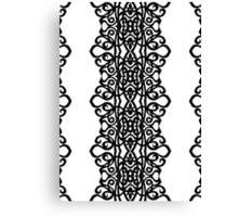 Lace Embroidery Design Canvas Print