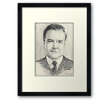 John Bates of Downton Abbey Framed Print
