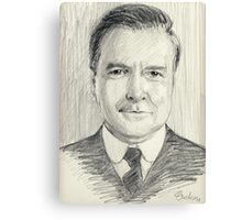 John Bates of Downton Abbey Canvas Print