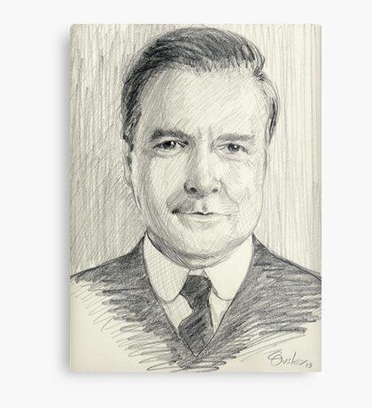 John Bates of Downton Abbey Metal Print