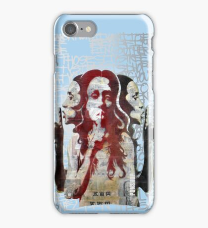 """Hush"" iPhone Case iPhone Case/Skin"