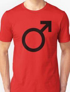 Male symbol Unisex T-Shirt