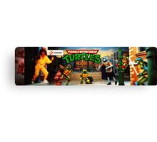 TMNT Arcade Canvas Print