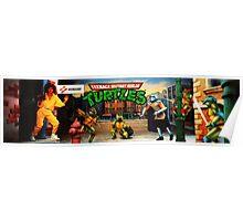 TMNT Arcade Poster