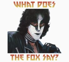 What does the fox say? Eric Carr by isteve51