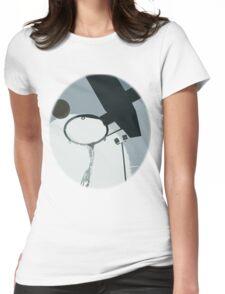 Ball Shot Womens Fitted T-Shirt