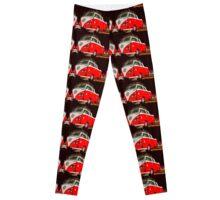 Red combi Volkswagen Twin Leggings