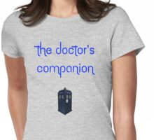The Doctor's Companion Womens Fitted T-Shirt