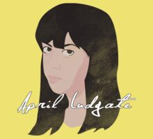 April Ludgate by minun3