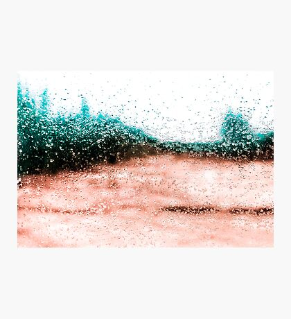 Icy Tones Photographic Print