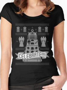 CELEBRATE!!! Women's Fitted Scoop T-Shirt