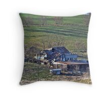 Rural Decay Throw Pillow