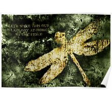 Coheed and Cambria Dragonfly Poster Poster