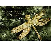 Coheed and Cambria Dragonfly Poster Photographic Print