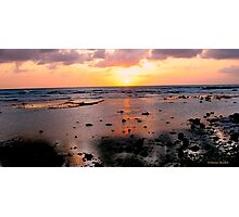 Caribbean at dusk Photographic Print