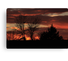 Being Thankful Canvas Print