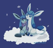 Glaceon Winter Snow by Shikuroshi