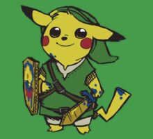 Pikachu - Link by JamalsGarments