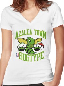 NPA Series - BUG TYPE Women's Fitted V-Neck T-Shirt