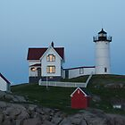 Nubble Light - York, ME 04-28-13 by David Lipsy