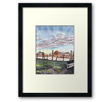 Huntingdon Sunrise Framed Print
