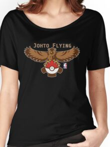 NPA Series - FLYING TYPE Women's Relaxed Fit T-Shirt