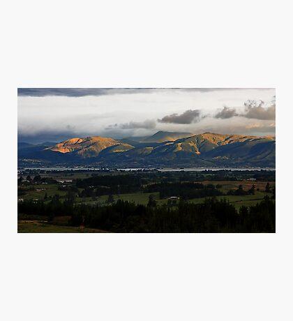 Dappled hills Photographic Print