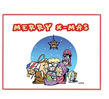 Merry KAOS Christmas by biomek