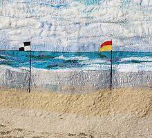 Swim between the flags by Bekahdu
