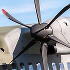 Airplane propeller detail. by FER737NG