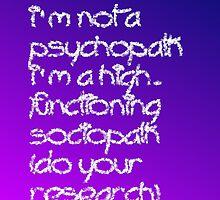 Sociopath by kpoz21