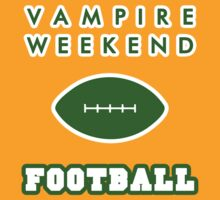 Vampire Weekend Football  by exeters